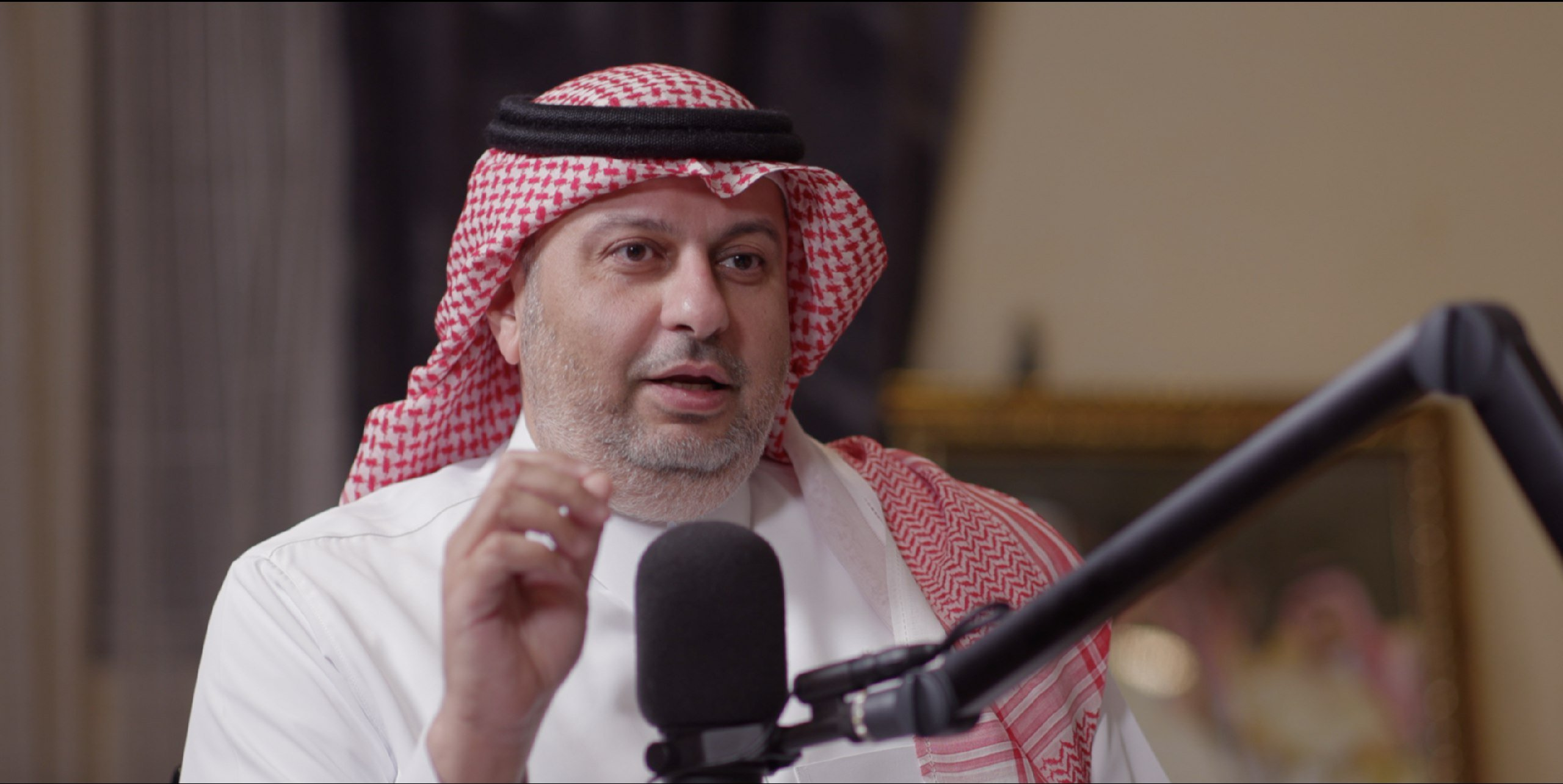 مقابلة مع الأمير عبدالله بن مساعد على بودكاست تماس
