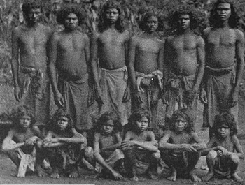 محنة المعزولين / أفراد من المنبوذين في مالابار، كيرلا (1906)