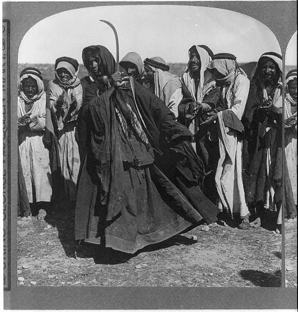 النكبة و القضية الفلسطينية - رقص الدحة